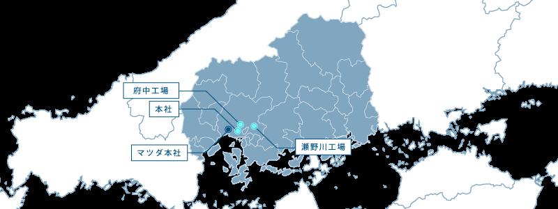 国内拠点マップ