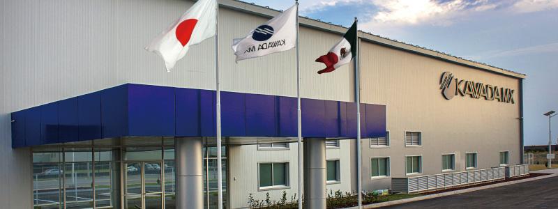 メキシコ工場 Kawada MX S.A.de C.V.